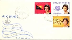Papua New Guinea, Worldwide First Day Cover, Royalty