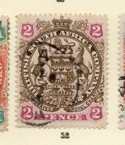 Rhodesia 1898 Early Issue Fine Used 2d. NW-170429