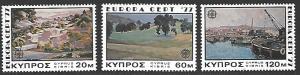 Cyprus #475-477 MNH Set of 3