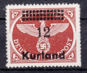 Germany Occupation Kurland 1945 Mi# 4 By MNG (1118)