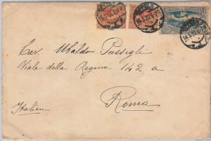 FRENCH COLONIES : Haute Silésie -  POSTAL HISTORY - COVER to ITALY 1920