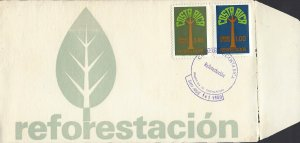 COSTA RICA REFORESTATION Sc C775-C776 FDC 1980