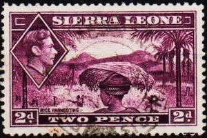 Sierra Leone. 1938 2d S.G.191 Fine Used