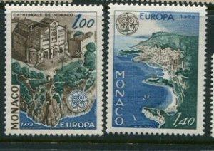 Monaco #1113-4 MNH