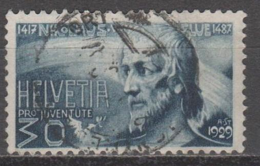 Switzerland #B52 F-VF Used CV $12.50 (B11777)