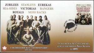 CA20-007, 2020, Colored Hockey Championship, Pictorial Postmark, First Day Cover