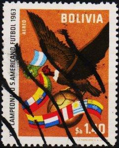 Bolivia. 1963 1p40 S.G.759 Fine Used
