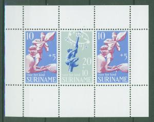 SURINAM/SURINAME 1969 MNH SC.B157+B159a Child Walfare