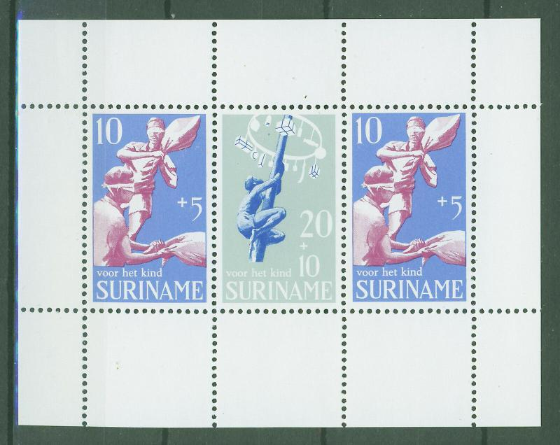 SURINAM/SURINAME 1969 MNH SC.B157+B159a Child Walfare