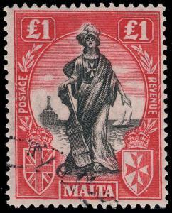 Malta Scott 114 Gibbons 140 Used Stamp