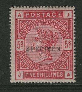 Great Britain #108s (SG #180s) Mint Fine - Very Fine Full Original Gum LH