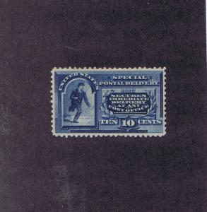 SCOTT# E2 UNUSED OG LH 10 CENT SPECIAL DELIVERY MESSENGER, 1888, PSE CERT