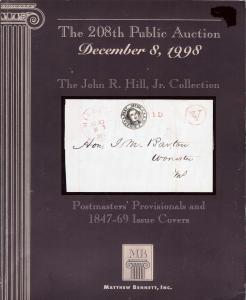 The John R. Hill, Jr. Collection, Bennett 208