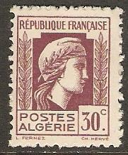 1944 Algeria Scott 173 Marianne MNH