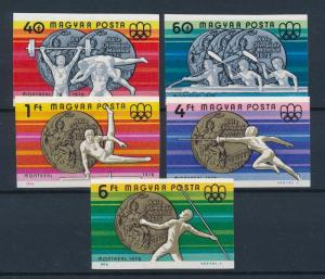 [56295] Hungary 1976 Olympic games Fencing Wrestling Gymnastics Imperf. MNH