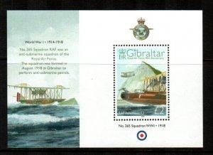 Gibraltar #1141  MNH  Scott $13.50   Souvenir Sheet