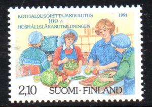 Finland Sc 847 1991 Home Economics stamp mint NH