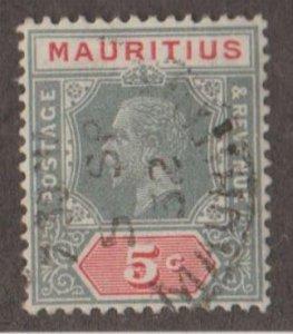 Mauritius Scott #184a Stamp - Used Single