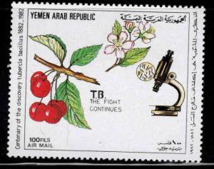 Yemen Scott C114 MNH** 1982 TB stamp
