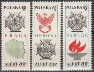 Poland #1662-4   MNH (S8700)