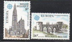 Belgium Sc 1013-14 1978 Europa stamp set mint NH