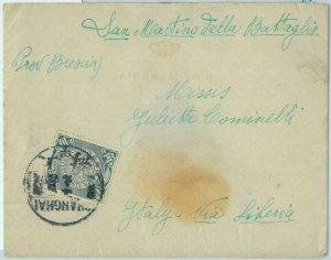 BK0453 - Imperial CHINA -  POSTAL HISTORY - COVER from ITALIAN FORCES  1910