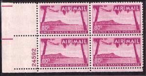 C46 Mint,OG,NH... Plate Block of 4... SCV $19.00