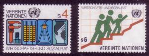 UN Vienna Sc# 15 / 16 ECOSOC MNH