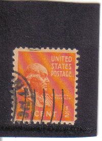803 - 1.2 cent Franklin used f-vf.