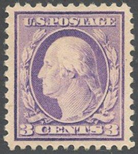 US Scott #501 Mint, XF/S, Hinged