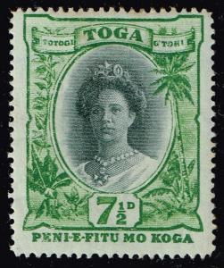 TONGA STAMP 1920 -1937 Queen Salote  MH/OG