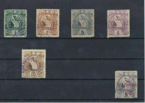 Guatemala 1886 Used Stamps Ref: R5318