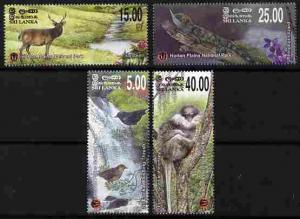 Sri Lanka 2010 Horton Plains National Park perf set of 4 ...