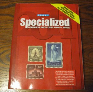 2011 Scott Specialized Catalogue of US Stamps and Covers
