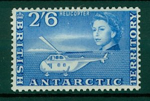 British Antarctic Territory QEII 1963 2/6d Helicopter sg12 (1v) Mint Stamp