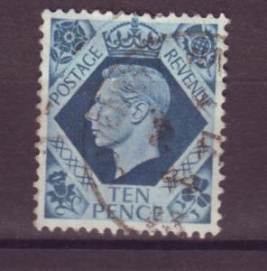 J8518 JL stamps 1937-9 great britain used #247 kgvI wmk 251