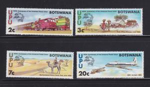 Botswana 110-113 Set MNH UPU