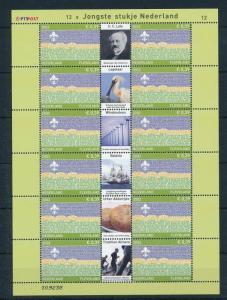 [17297] Netherlands Niederlande 2002 Province Sheet of Flevoland MNH