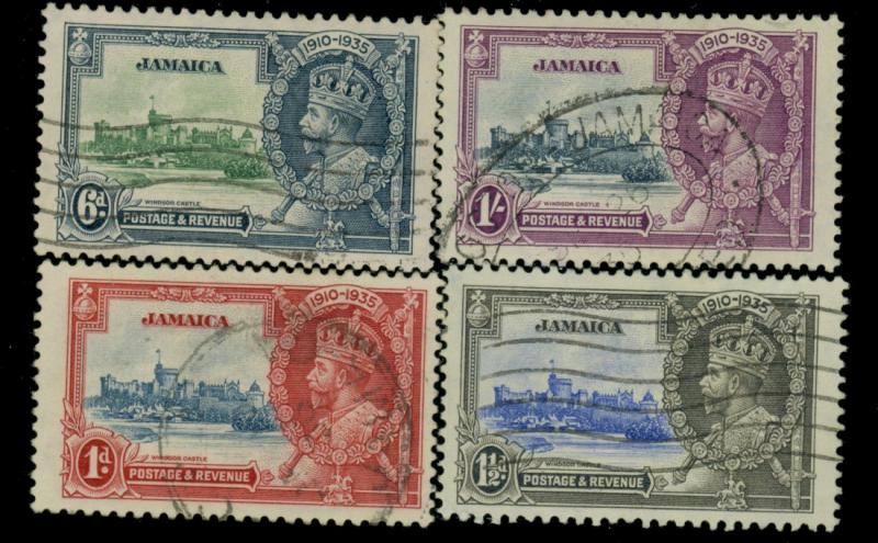 Jamaica #109-12 Used VF CAt$34.50
