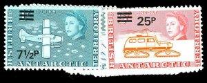BRIT. ANT. TERR. 25-38  Mint (ID # 79115)