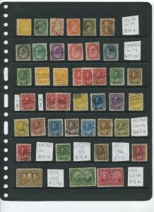 Canada Collection from 1870 to 1976 M/U Cat. Value $675