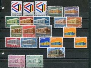 Europa Cept  1969 Mint VF NH   - Lakeshore Philatelics