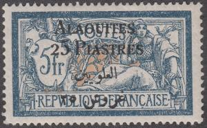 Alaouites #15 France Stamp Surcharged MH