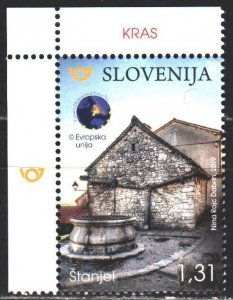 Slovenia. 2019. 1355. Tourism, Karst in Brkin. MNH.
