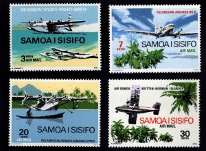 Samoa i Sisifo Scott  C3-C6 MNH** Air Mail set