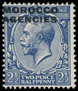 Great Britain Offices in Morocco Scott 231 Gibbons 58a Mint Stamp (1)