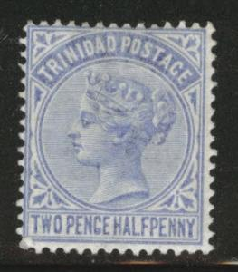 Trinidad Scott 70 CA wmk 2 1883 Queen Victoria stamp