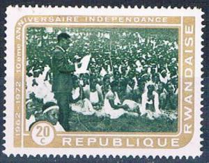 Rwanda 470 Used President Kayibanda 1972 (R0403)+