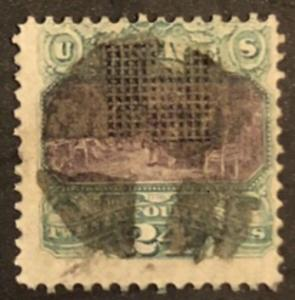 TangStamps U.S. Stamp #120 Pictorial Issue 24c Used