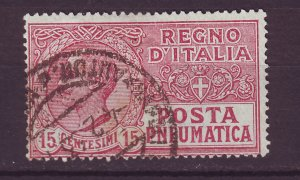 J24762 JLstamps 1913-28 italy used #d3 off center